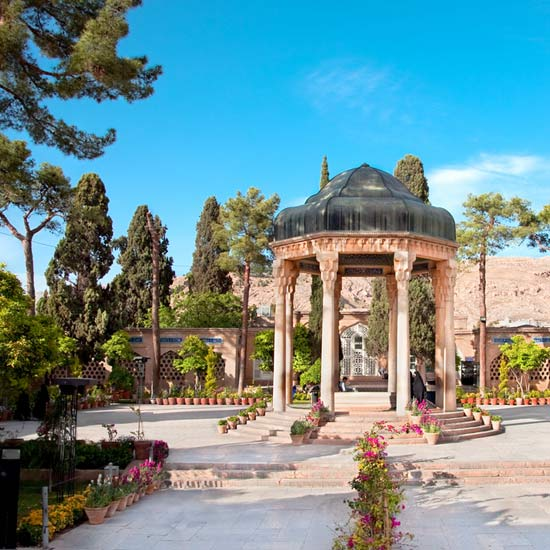 The Tomb of Hafez, Shiraz